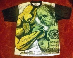 Gold vs Money... T-Shirts by arihoff