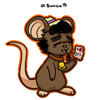 Dunce Mouse by wrensw