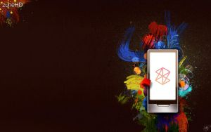 Zune HD Promo Wallpaper by stkr