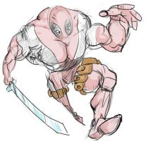 Rob Liefeld inspired Deadpool by NoBullet