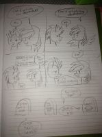 Comic time with Rainbow Dash and the Wonderbolts by KaleidoscopeHeavens