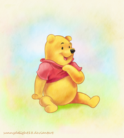 Winnie the Pooh by sunnydelight18
