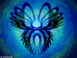abstract butterfly by Bad-Blood