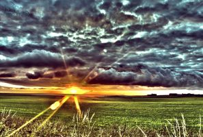 United Kingdom Early Morning Sun HDR by SCHTARKs-FOTO