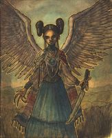Hopi Angel of Death by Hen-na-Ningyo