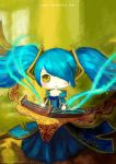 sona , league of legend by Xsaye