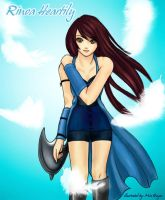 Another Rinoa Heartilly Fanart by mia-reiz