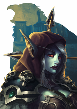 Lady Sylvanas by jasonwang7
