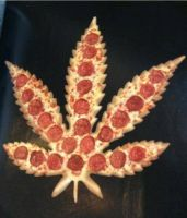 Weed pizza by Boltession