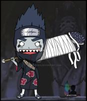 kisame chibi by justcallmeBECK