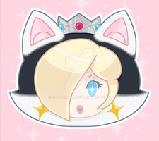 Sparkle Cat Rosalina by Spudenski