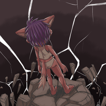 Doodle: The Crumbling Mindscape by prdarkfox