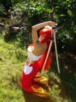 Red pants Erza by COSPLAYTITANIA