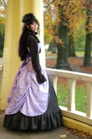 Liliac victorian gothic dress by BlackvelvetSITC