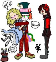 mad at mad hatter by yellowvest123