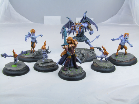 Malifaux - Lilith's Brood by Stretch-Ink