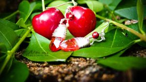 Cherry earrings by Noncsi28