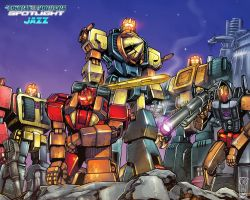 Predacons Wallpaper FS by WhiteRabbitInk