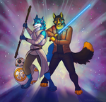 May the Force Be With You by blackmustang13