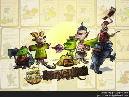 Munchkin High Res Texture Pack by RedPaints