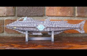Nautilus Submarine: Side View by Coscomomo