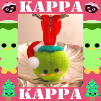 Kappa Christmas Ornament by Squisherific