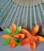 Origami Flowers by Klaudia-Ayame