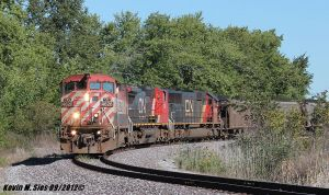 BCOL 4626 and IC 1012 lead NS 436 coal train by EternalFlame1891