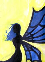 Fairy Silhouette by PacWoman