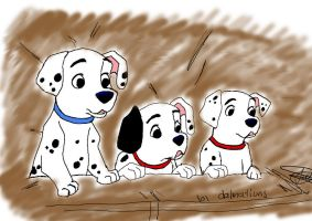 101 dalmations by twinkelsparky1