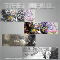 tag wall by ZackScream