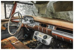 Car Cemetery 1 by photoshoptalent