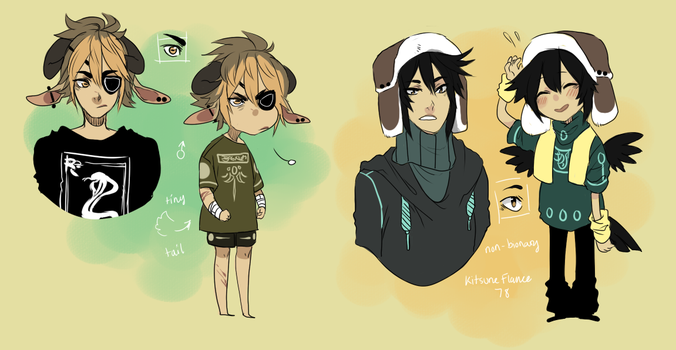 Adopts: D by Silent-Koi