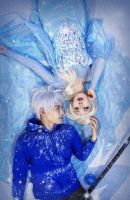 elsa x jackfrost by michivvya