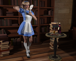 Alice gets distracted by AmethystPendant