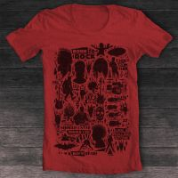 T-shirt Born to rock red by pilife