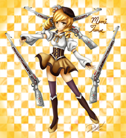 Mami Tomoe by RadiantRoses