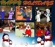 Happy Holidays 2011 by catqueen5