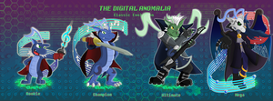 TDA: Quamon's Evolution Line FINALLY DONE! YAY by Artich0ker