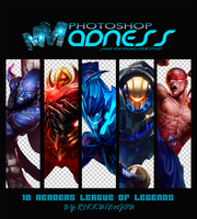 Pack Renders League of Legends by TamyRT