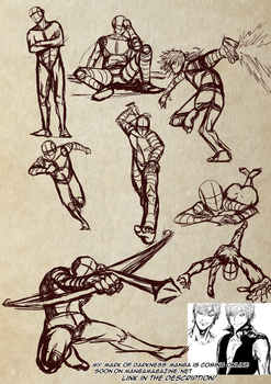 It's poses time! [Usable as References] by Dex91