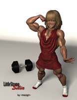 LittleStrong Silia 1 by msclgrl