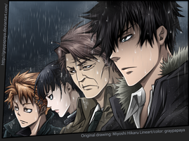 Psycho Pass - Enforcers by graypapaya