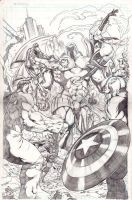 avengers versus onslaught by refineib73