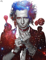 Keith Richards by NickyBarkla