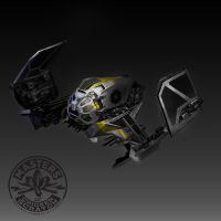 Death Adder Squaderon ship by FutureElements