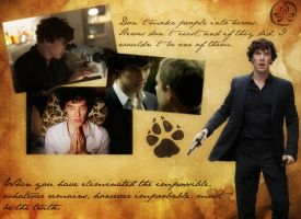 Sherlock wallpaper by Axeto