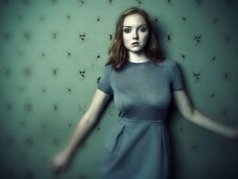Lily Cole wallpaper v04 by Duke-3d