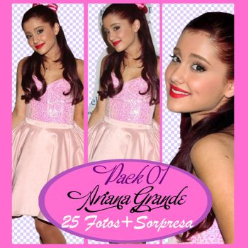 Pack 01 Ariana Grande by dinaedittions