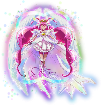 Super Cure Happy by frogstreet13